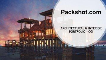 Architectural & Interior Portfolio -CGI For Client Presentation