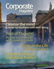 Corporate Magazine October 2018