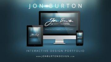 Jon Burton Interactive Portfolio