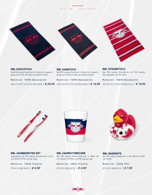 RB Leipzig Fankatalog 2018/19