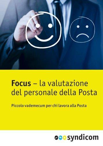 Focus – la valutazione del personale della Posta
