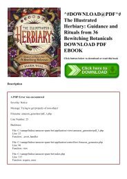^#DOWNLOAD@PDF^# The Illustrated Herbiary Guidance and Rituals from 36 Bewitching Botanicals DOWNLOAD PDF EBOOK