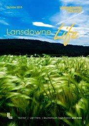 Lansdowne Life 18 October 2018