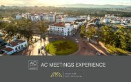 AC Hotel Guatemala - CMI