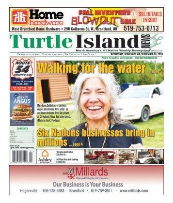 Turtle Island News - 09/26/2018