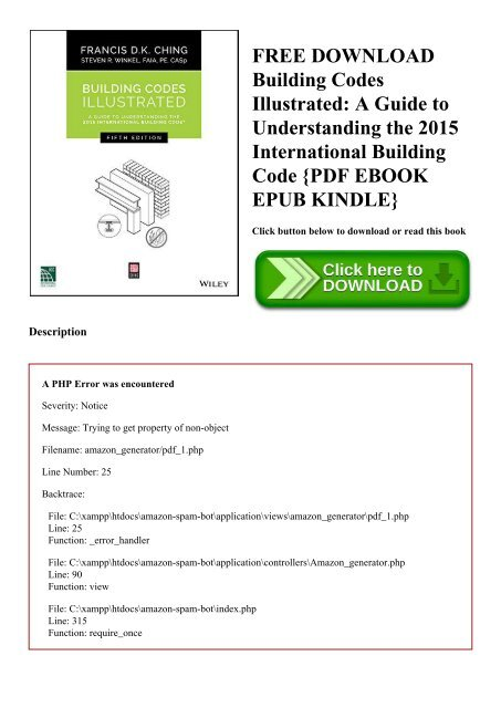 Free Building Codes Ilrated A Guide To Understanding The 2017 International Code Pdf