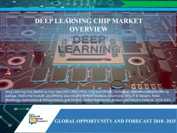 Deep Learning Chip Market Overview: Size, Share and Upcoming Trends by 2025