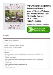 ^DOWNLOAD@PDF#)} Farm from Home A Year of Stories  Pictures  and Recipes from a City Girl in the Country ^E.B.O.O.K. DOWNLOAD#