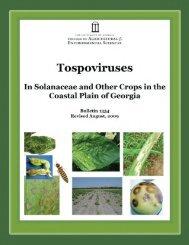 Tospovirus Bulletin - Athenaeum@UGA - University Of Georgia