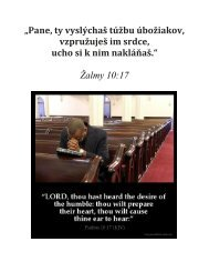 Žalmy 10 : 17