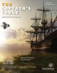 Captain's Table - VMM Members Mag - Vol. 1