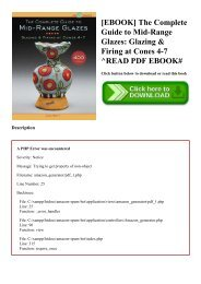 READ [EBOOK] The Complete Guide to Mid-Range Glazes Glazing & Firing at Cones 4-7 ^READ PDF EBOOK#