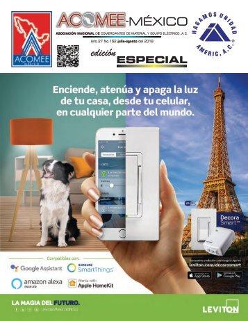 Revista Acomee Mexico - Julio Agosto 2018