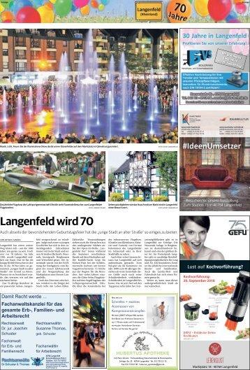 70 Jahre Langenfeld  -27.09.2018-