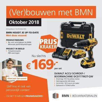 BMN krant - bouwen met bmn > doen we. Editie oktober 2018