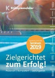 Seminarplan 2019