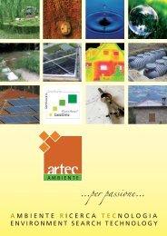 brochure ARTEC generale - ARTECAmbiente srl