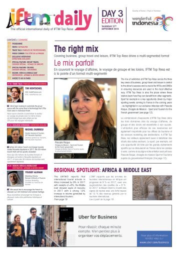 IFTM Daily 2018 - Day 3 Edition