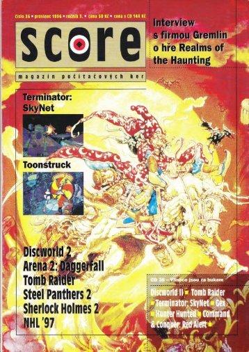 Tomb Raider 1 - recenze - SCORE #36