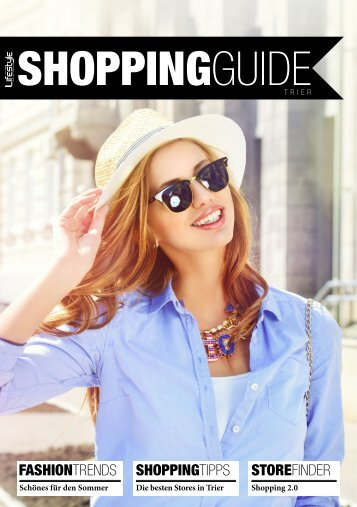 ShoppingGuide Sommer 2018