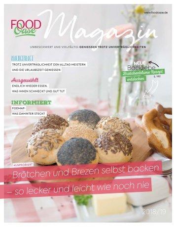 FoodOase Magazin 2018/2019 - Genuss trotz Unverträglichkeiten