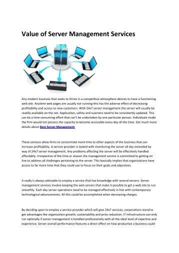 6 Cpanel Server Management