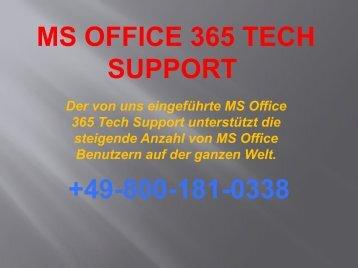 Wie MS Office 365 Tech Support + 49-800-181-0338 dient ansteigenden MS Office-Benutzern?