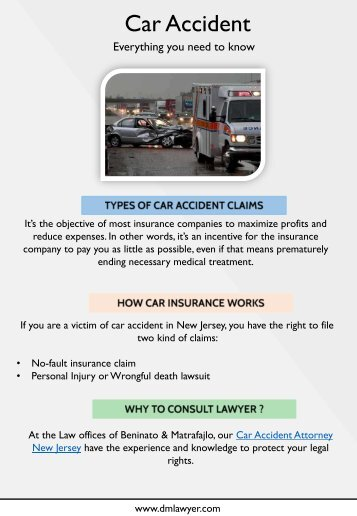Important Things You Must Know About Car Accident Claims