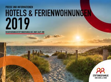 Stiftungsfamilie BSW-Hotel & FeWo - Preisliste 2019