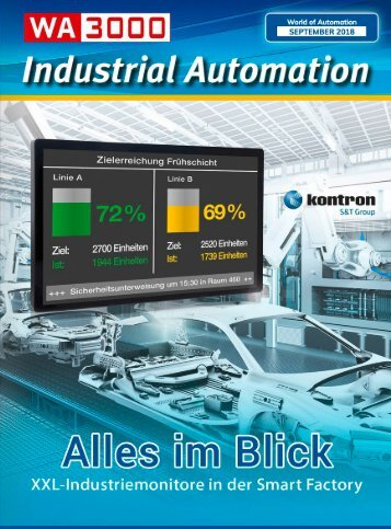 Industrial Automation - WA3000 Industrial Automation September 2018