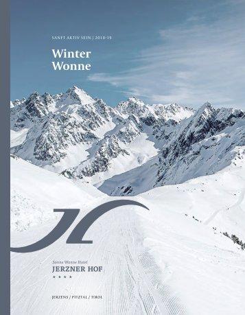 Jerznerhof Winterpreisliste 2018-19