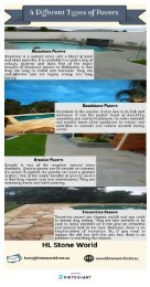 4 Different Types of Pavers