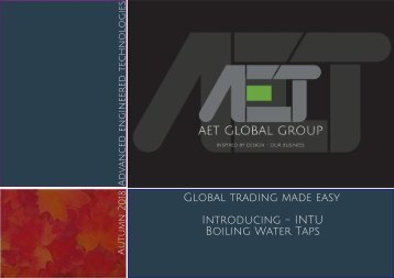 New AET Catalogue September 2018