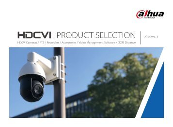 HDCVI-Product Selection_2018 ver. 3
