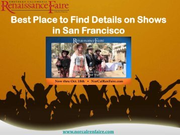 Best Place to Find Details on Shows in San Francisco