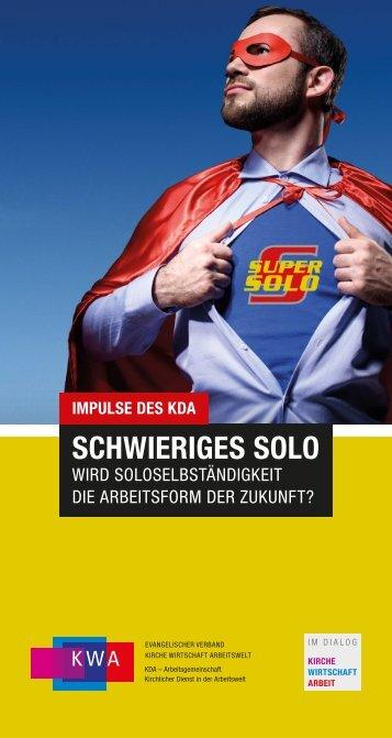 KWA-Stellungnahme_2018_Soloselbständigkeit_180917_WEB