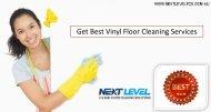 Get Best Vinyl Floor Cleaning Services