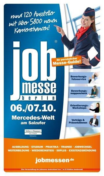 Der Messe-Guide zur 10. jobmesse berlin