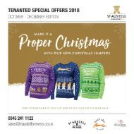 Tenanted Special Offers 2018 Q4 Oct - Nov