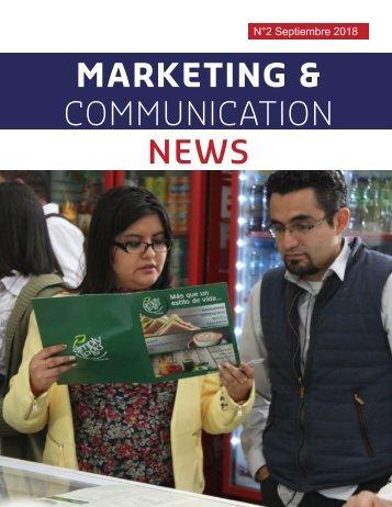 MARKETING & COMMUNICATION NEWS SEPTIEMBRE