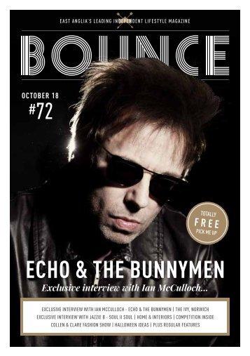 Bounce Magazine October 2018