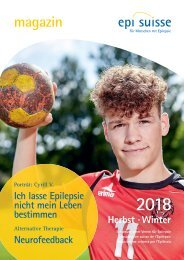 Magazin Epi-Suisse Herbst-Winter 2018