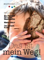 Borschüre Montessori Herbst / Winter 2018
