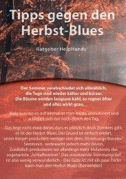 Ratgeber Herbst Blues II
