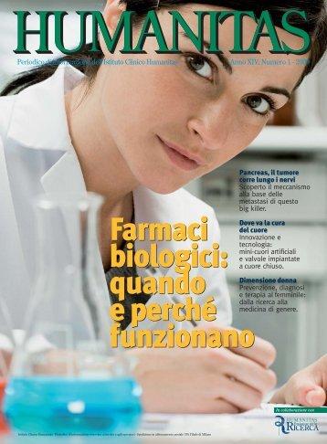 Farmaci biologici - Istituto Clinico Humanitas