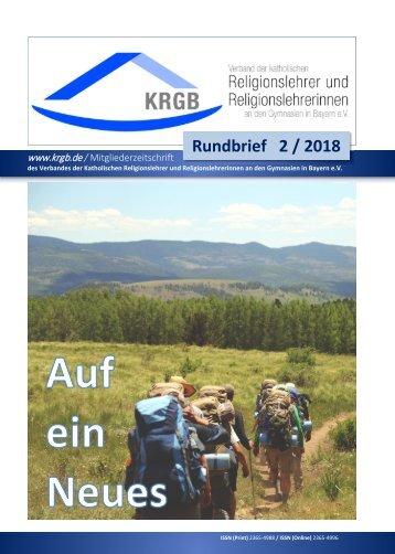 KRGB Rundbrief 2018 / 2