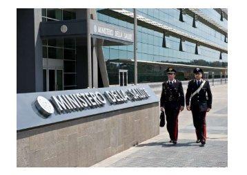 I Carabinieri dei NAS - Ministero della Salute