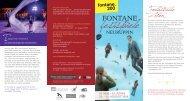 Fontastische Zeiten - Die Fontane-Festspiele 2019
