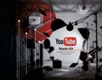 YouTube Starter Kit - Bachelorarbeit 2016