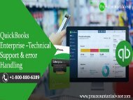 QuickBooks Enterprise Technical Support and Error Handling